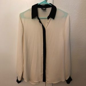 Lord and Taylor cream blouse unworn